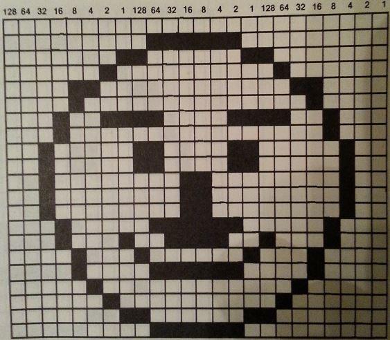 C64 sprite example